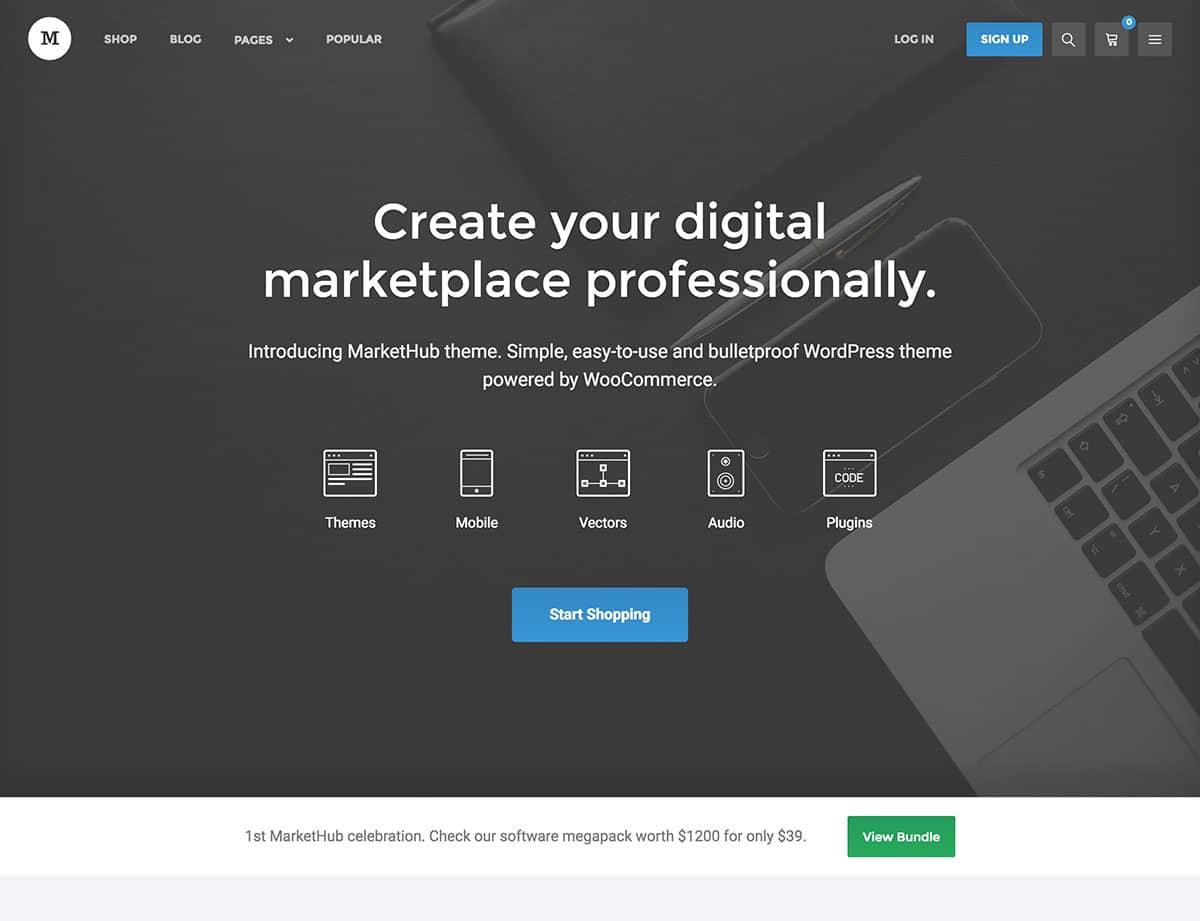 Exemplo de markeplace wordpress para quem deseja abrir um negócio como este