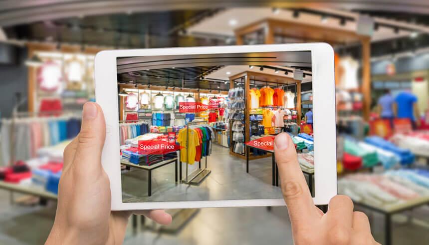 Exemplo de shopping virtual